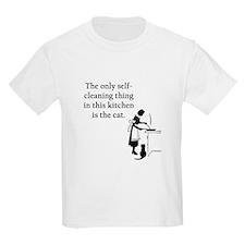 Kitchen Cat Kids Light T-Shirt
