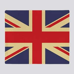 British Flag, Throw Blanket