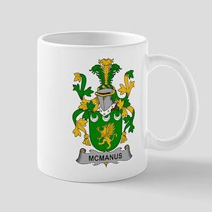 McManus Family Crest Mugs