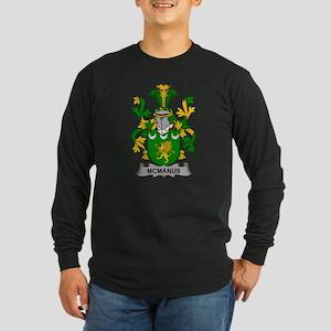 McManus Family Crest Long Sleeve T-Shirt