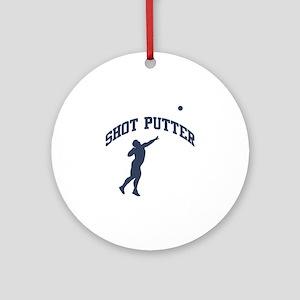 Shot Putter Ornament (Round)