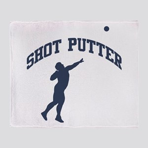Shot Putter Throw Blanket