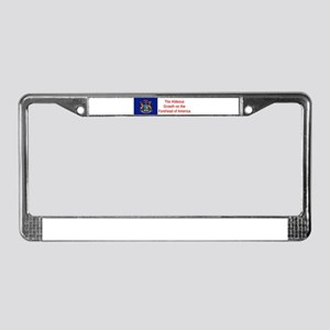 Michigan Humor #4 License Plate Frame