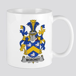 Moroney Family Crest Mugs
