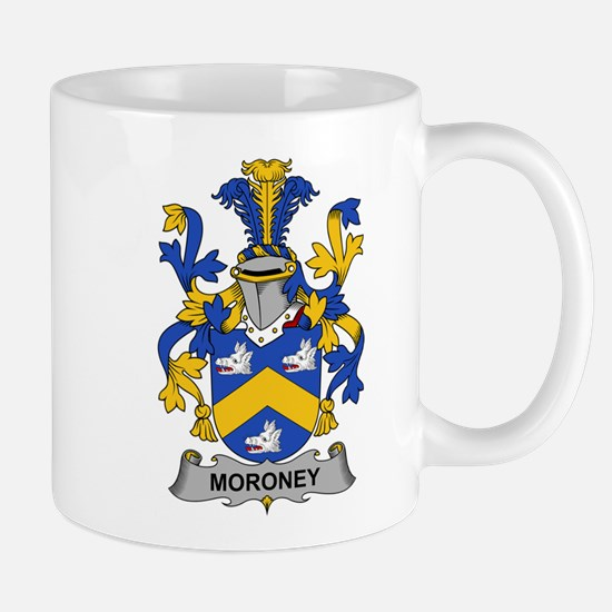 Moroney Family Crest Mugs