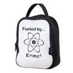 Fueled by E=mc2 Neoprene Lunch Bag