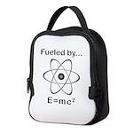 Fueled by E=mc2 Neoprene Lunch Bag