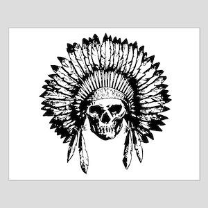 Native American Skull Posters