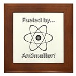 Fueled by Antimatter Framed Tile