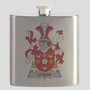Lydon Family Crest Flask