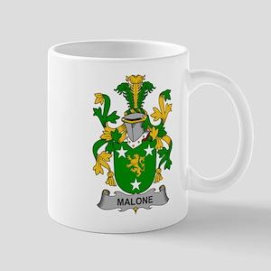 Malone Family Crest Mugs