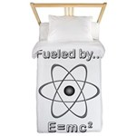Fueled by E=mc2 Twin Duvet