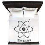 Fueled by E=mc2 King Duvet