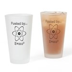 Fueled by E=mc2 Drinking Glass