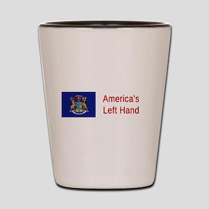 Michigan Humor #2 Shot Glass