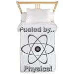 Fueled by Physics Twin Duvet