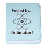 Fueled by Antimatter baby blanket