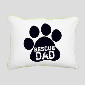 Rescue Dad Rectangular Canvas Pillow