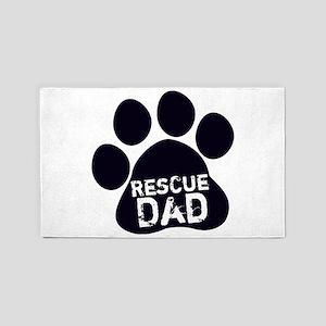 Rescue Dad 3'x5' Area Rug