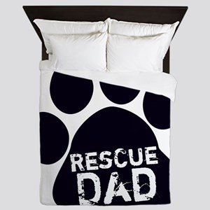 Rescue Dad Queen Duvet