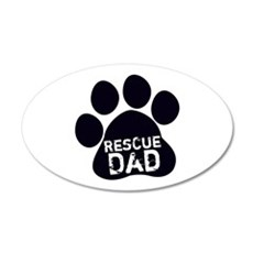 Rescue Dad Wall Decal