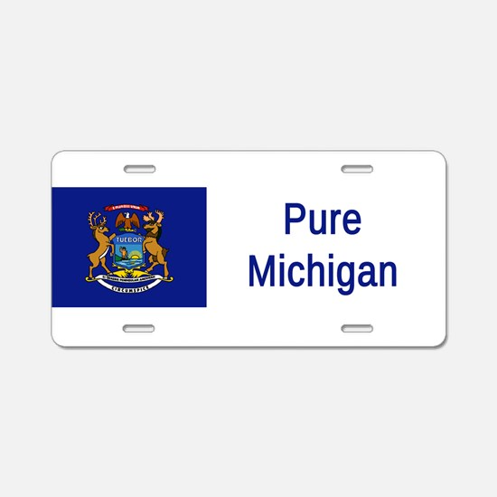 Michigan Motto #2 Aluminum License Plate