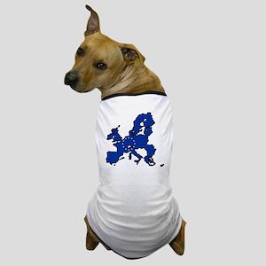 United States of Europe Dog T-Shirt