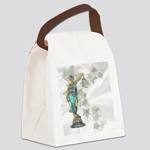 Lady Justice on Satin and Ivy Canvas Lunch Bag