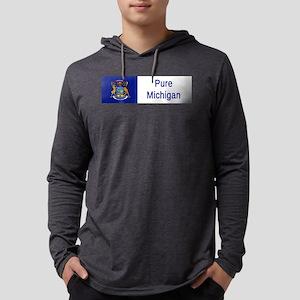 Michigan Motto #2 Long Sleeve T-Shirt