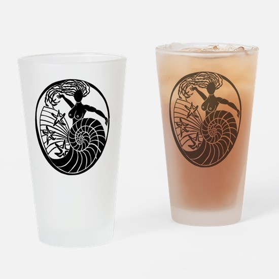 Yemanja, Orixa of the Ocean Drinking Glass
