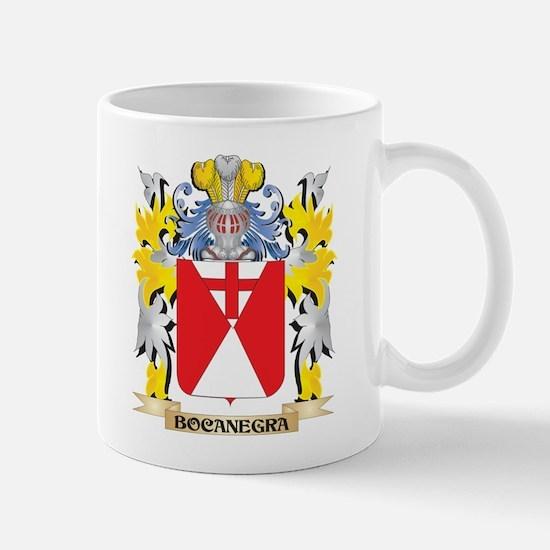 Bocanegra Coat of Arms - Family Crest Mugs