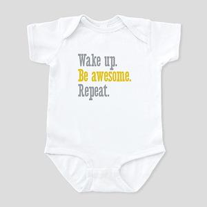 Wake Up Be Awesome Infant Bodysuit
