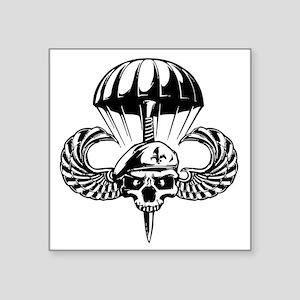 Paratrooper Skull Sticker