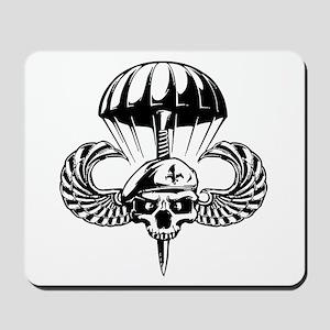 Paratrooper Skull Mousepad