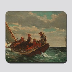 Winslow Homer - Breezing Up (A Fair Wind Mousepad