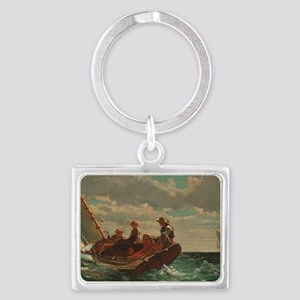 Winslow Homer - Breezing Up (A  Landscape Keychain