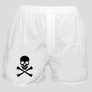 Skull And Crossbones Boxer Shorts