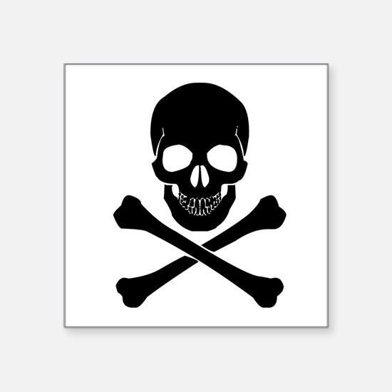 Skull And Crossbones Sticker
