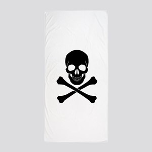 Skull And Crossbones Beach Towel