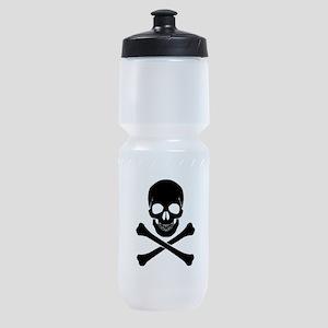 Skull And Crossbones Sports Bottle
