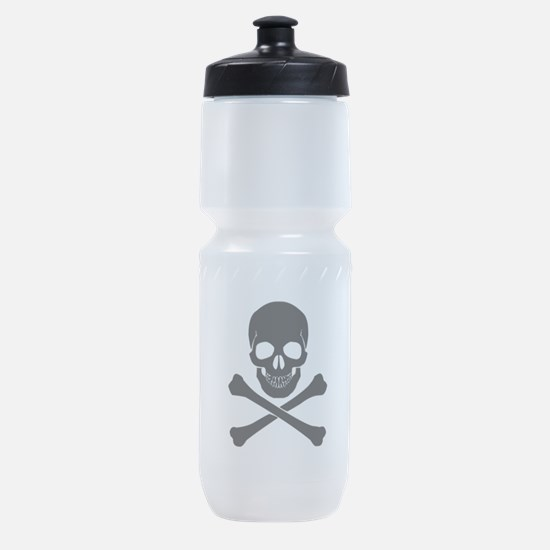 Skull And Crossbones Sports Bottle