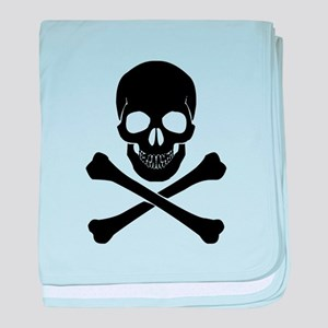 Skull And Crossbones baby blanket