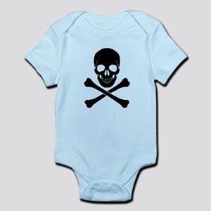 Skull And Bones Baby Clothes Accessories Cafepress