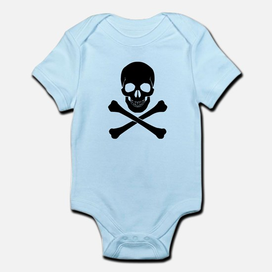 Skull And Crossbones Body Suit