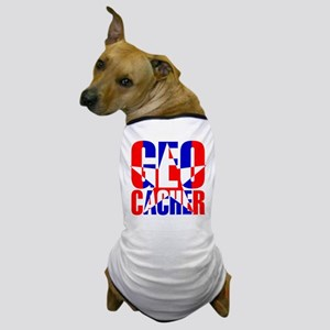 Star Geocacher Dog T-Shirt