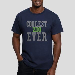 Coolest Zio Ever Men's Fitted T-Shirt (dark)