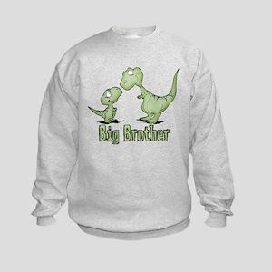 Dinosaurs Big Brother Kids Sweatshirt