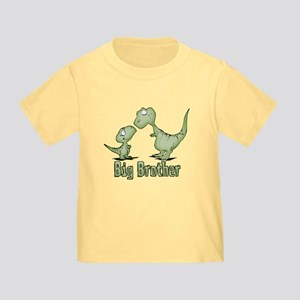 Dinosaurs Big Brother Toddler T-Shirt