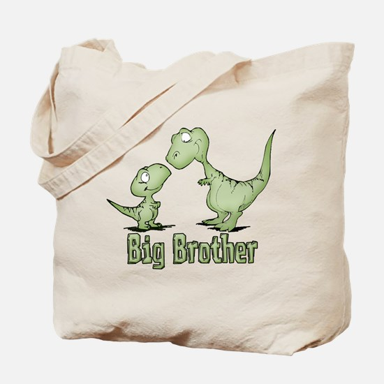 Dinosaurs Big Brother Tote Bag