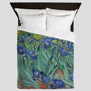 Vincent van Gogh - Irises Queen Duvet